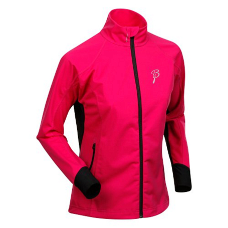 Куртка беговая Bjorn Daehlie Jacket OLYMPIC LIGHT Women Festival Fuchsia/Black (фуксия/черный)