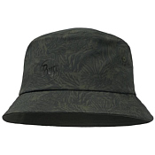 Панама Buff Trek Bucket Hat Checkboard Moss Green