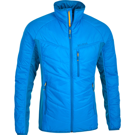 Куртка для активного отдыха Salewa 2015 PARTNER PROGRAM MEN *DURAN HYBRID PRL M JKT davos/8560 / голубой