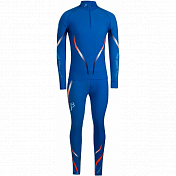 Комплект беговой Bjorn Daehlie Racesuit VICTORIAN 2-piece Ocean Blue/Shocking Orange (синий/оранж)