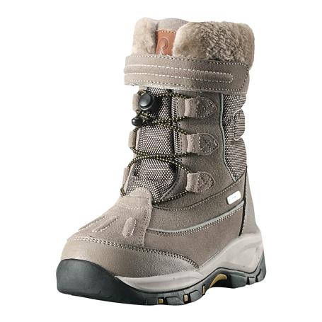 Купить Ботинки городские (высокие) Reima 2017-18 Samoyed Dark sand Зимняя обувь 1362108