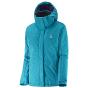 Куртка Горнолыжная Salomon 2016-17 Stormseeker Jkt W Kouak Blue