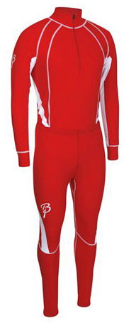 Комплект беговой Bjorn Daehlie Race suit CHARGER Formula One (красный/белый)