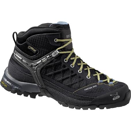 Купить Ботинки для треккинга (высокие) Salewa WS FIRETAIL EVO MID GTX Black/Gneiss Треккинговая обувь 1090347