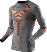 Футболка X-bionic 2016-17 For Automobili Lamborghini Ski Man Radiactor Evo UW Shirt S055 / Металл