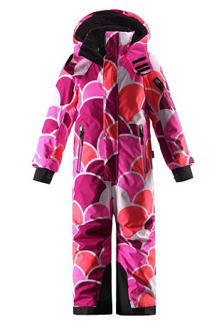 Купить Комбинезон горнолыжный Reima 2015-16 Reach berry pink Детская одежда 1197305