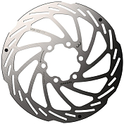 Ротор диск торм BBB 2019 discbrake rotor PowerStop 140mm silver
