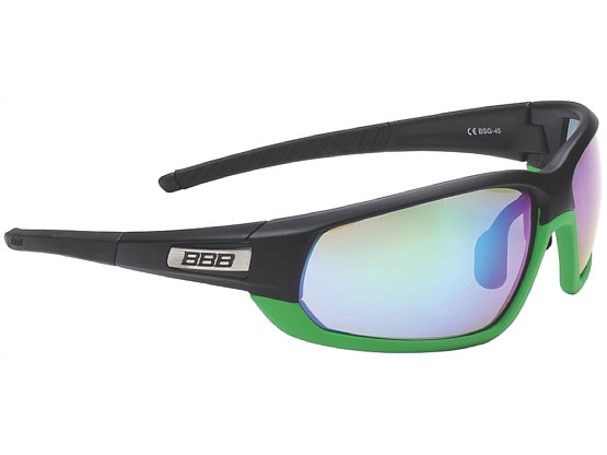 Очки солнцезащитные BBB 2015 sunglasses Adapt Fulframe PC  MLC green lenses (BSG-45)
