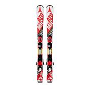 Горные лыжи с креплениямиГорные лыжи<br>Исключительные лыжи для юных горнолыжников!<br><br>Благодаря технологии Bend-X юные фанаты Микаэллы и Марселя могут контролировать лыжи в повороте еще легче, чем раньше, поскольку эта специальная зона гибкости под креплениями позволяет прогнуть лыжи по дуге с меньшим усилием. Благодаря спортивному рокеру Race и V-образной форме лыжи повороты стали выполнять повороты стало еще легче. Модель Redster JR II немного шире, а ее весовой прогиб более выражен по сравнению с JR I. Геометрия лыж точно выверена и изменяется в зависимости от ростовки лыж.<br><br>Уровень катания: начинающие<br>Трасса: подготовленный склон<br>Интерфейс: XTE 045<br><br>Крепления: XTE 045<br>Вес: 0.83 kg<br>Геометрия:<br><br><br>ростовка     (см)<br>100 <br>110 <br>120 <br><br><br>ширина носа  (мм)<br>101 <br>105 <br>108 <br><br><br>ширина талии (мм)<br>66 <br>67 <br>68 <br><br><br>ширина пятки (мм)<br>82.5 <br>86 <br>89 <br><br><br>радиус       (м) <br>7 <br>8 <br>9 <br><br><br><br>Bend-X Technology<br>Race Rocker<br>Cap Fiber Core<br><br><br>Пол: Унисекс<br>Возраст: Детский
