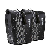 Сумка THULE Pack n Pedal Shield Pannier Small (pair) Monument/Black, черный