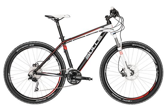 Купить Велосипед Bulls Jinga 27,5 2016 black matt/white / Черно-белый Горные спортивные 1250488