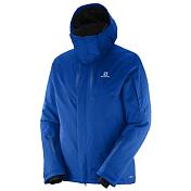 Куртка горнолыжнаяОдежда горнолыжная<br>Куртка для &amp;nbsp;катания на лыжах.&amp;nbsp;<br> <br> -Воздушные каналы, расположенные между слоями, гарантируют круговую циркуляцию воздуха.&amp;nbsp;<br> -Излишки влаги быстро испаряются, сохраняя тепло.<br> -проклеенные швы<br> -карманы для рук, нагрудный карман<br> -снегозащитная юбка<br> -внутренние карманы<br> -эластичные манжеты<br> -система вентиляции<br> -регулируемый капюшон<br> -карман для скипаса<br> -Состав PES 100%<br> -Утеплитель PES 100%<br>