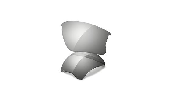Купить Запасные линзы Oakley FLAK JACKET XLJ / CLEAR BLACK IRIDIUM PHOTOCHROMIC Очки солнцезащитные 1337548