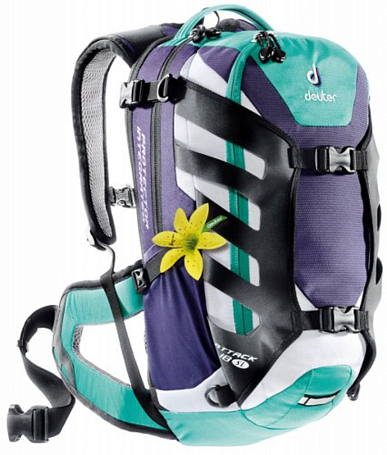 Рюкзак Deuter 2013 Bike Attack 18 SL blueberry-mint