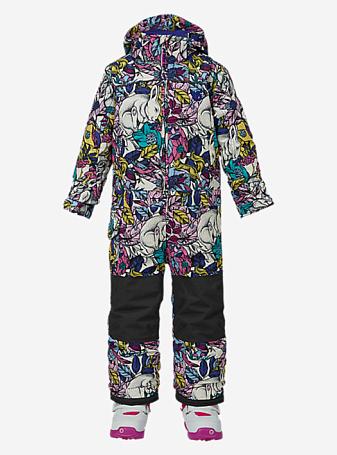 Купить Комбинезон сноубордический BURTON 2016-17 GIRLS MS ILUSN O PC ANIMALIA Детская одежда 1274915