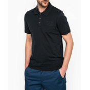 ���� ��� ��������� ������ Ea7 Emporio Armani 2016 Men's Knit Polo Notte