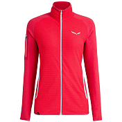 Толстовка туристическая Salewa 2018-19 Puez Plose 4 Polarlite Full-Zip Women's Rose/Red