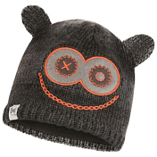 Шапка Buff CHILD KNITTED & POLAR HAT MONSTER JOLLY BLACK CHILD