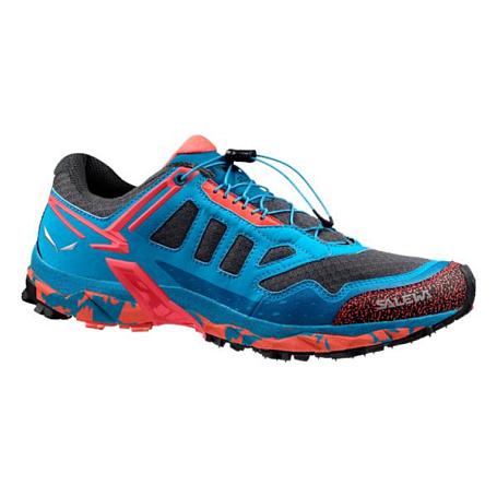 Купить Треккинговые кроссовки Salewa 2017 WS ULTRA TRAIN Magnet/Hot Coral, Треккинговая обувь, 1330038