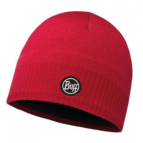 Купить Шапка BUFF SKI CHIC COLLECTION KNITTED & POLAR HAT TAOS RED SAMBA Банданы и шарфы Buff ® 1263206