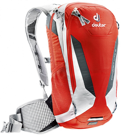 Рюкзак Deuter 2015 Bike Compact Lite 8 papaya-white
