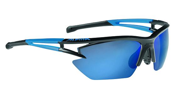 Купить Очки солнцезащитные Alpina 2017 ALPINA EYE-5 HR S CM+ black matt-blue, солнцезащитные, 1323648
