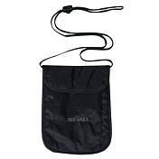 КошелекКошельки<br>Маленький нагрудный кошелёк телесного или черного цвета, из лёгкого и приятного материала.<br>Оснащение: Функциональный нагрудный кошелёк с органайзером.<br>Материал: 210T Nylon Ripstop<br>Вес: 35 г<br>Размер: 19х13х1 см