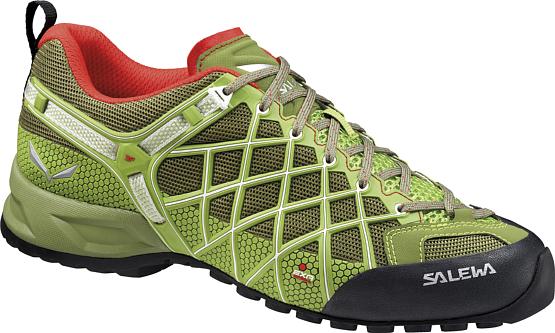 Купить Треккинговые кроссовки Salewa Tech Approach MS WILDFIRE VENT Cactus/Basilico / Треккинговая обувь 1157914