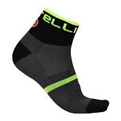 НоскиНоски<br>Укороченные носки разработанные специально для велосипедистов. Мягкая и легкая ткань с ионами серебра Meryl Skinlife имеет бактериальное свойство. Материал хорошо отводит влагу, чтобы сохранит ваши ноги сухими даже при самых интенсивных нагрузках. <br><br>Характеристики:<br><br>Материал: 85% Полиэстер, 15% Эластан