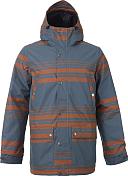 Куртка сноубордическая BURTON 2015-16 M TWC GREENLIGHT JK BOG BELMONT STRIPE