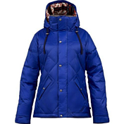 Куртка сноубордическаяОдежда сноубордическая<br>Пуховик, по виду которого даже и не скажешь что это катальная куртка. <br>Но мембрана 10000 на 10000, которая сделана двумя слоями не даст Вам промокнуть. <br>В общем эта куртка поможет Вам остаться в тепле и сухости в морозный день и в сильный снегопад.<br><br><br>Пол: Женский<br>Возраст: Взрослый<br>Вид: куртка