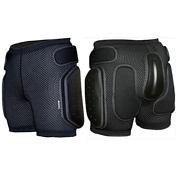 Защитные шортыЗащита<br>Основа - мягкая эластичная потовыводящая сетка с хорошей воздухопроницаемостью, без остаточной деформации. Система вентиляции спейсер. <br>Съемные боковые накладки толщиной от 8 до 16 мм. <br>Съемная комбинированная накладка для защиты копчика.<br><br>