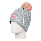 Шапка ROXY 2017-18 BAYLEE GIRL BEA G HATS SGRH HERITAGE HEATHER