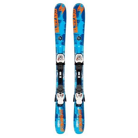 Купить Горные лыжи с креплениями Blizzard 2013-14 Junior GUNSMOKE IQ JR+IQ-7 (119-139) BLUE-ORANGE-WHITE 898347