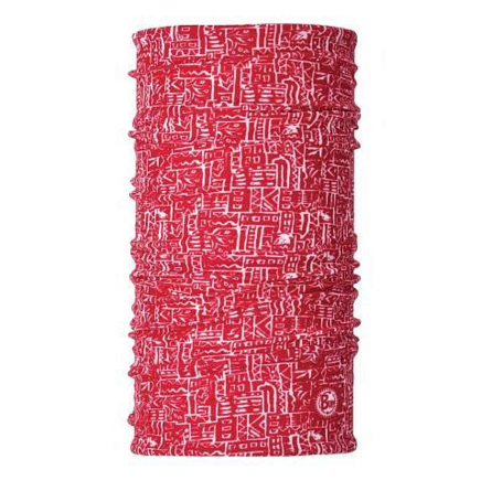 Бандана BUFF Angler Insect Shield UV Buff Suva Rojo