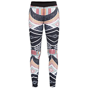 Брюки Roxy 2018-19 DAYBREAK BOTTOM J TRUE BLACK_POP SNOW LINES