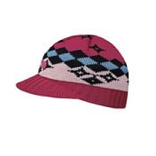 ШапкаГоловные уборы<br>Детская трикотажная шапка с жестким козырьком<br>Состав: 50% - мериносовой шерсти, 50% - полиакрил, внутри Polycolon