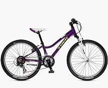 Велосипед Trek PreCaliber 21SP Girls  KDS 2017 Purple Lotus / Сиреневый