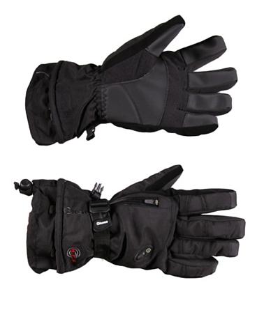 Купить Перчатки горные GLANCE Fusion (black/turquise) черный, Перчатки, варежки, 789969