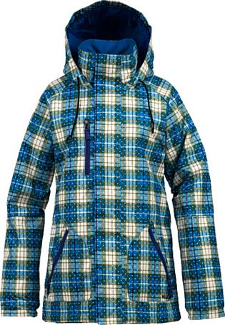 Купить Куртка сноубордическая BURTON 2013-14 W TWC NO WAY JK BLUE-RAY GRUNGE PLD Одежда 1021721