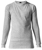 Комплект (футболка дл.рук. + брюки) MAIER 2015-16 Underwear 998380 silver melange / серый