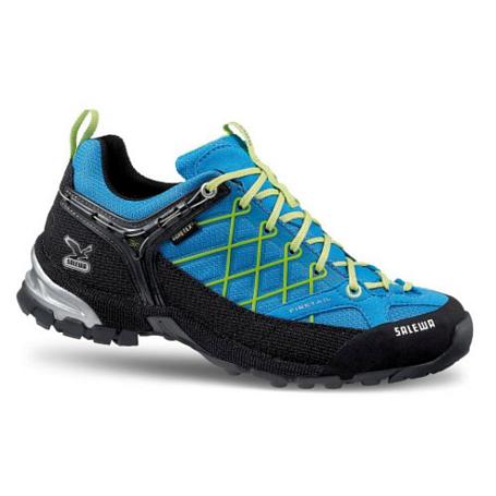 Купить Треккинговые кроссовки Salewa Tech Approach Womens WS FIRE TAIL GTX davos - cactus Треккинговая обувь 896686