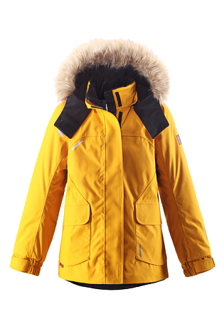 Купить Куртка горнолыжная Reima 2016-17 SISARUS ЖЕЛТЫЙ Детская одежда 1274373