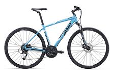 ВелосипедСпортивная посадка<br>&amp;lt;b&Размер рамы: XL<br>Уровень: Спортивный<br>Пол: Мужской, Унисекс<br>Назначение: Дорожный<br>Материал рамы: Алюминий<br>Рама: ALUXX aluminium, Алюминиевый сплав<br>Тип рамы: Хардтейл<br>Вилка: SR Suntour NEX HLO 700C, с ходом 63mm<br>Руль: Giant Connect, алюминиевый сплав, с изгибом, 31.8<br>Вынос: Алюминиевый<br>Подседельный штырь: Алюминиевый сплав, 30.9<br>Седло: Giant Connect Upright<br>Педали: One-piece black PP, 9/16<br>Кол-во скоростей: 27<br>Шифтеры/Манетки: Shimano Altus, 3x9 Speed<br>Передний переключатель: Shimano new Acera<br>Задний переключатель: Shimano New Acera<br>Тип тормозов: Дисковые (гидравл)<br>Тормоза: Tektro HDM290 hydraulic disc, 160mm rotors<br>Кассета: Shimano HG200 11-34, 9s<br>Система/Шатуны: Shimano M371, 48/36/26<br>Цепь: KMC X9, 9s<br>Каретка: Shimano UN26<br>Размер колес: 28 (700С)<br>Обода: Giant CR70 Wheelset, 32H/32H<br>Втулки: Giant CR70 Wheelset, 32H/32H<br>Спицы: Giant CR70 Wheelset, 32H/32H<br>Покрышки: Giant S-RX4 X-Road Tire, 700x40C