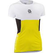 Футболка беговая Bjorn Daehlie 2020 T-Shirt Endorfin Wmn Yellow