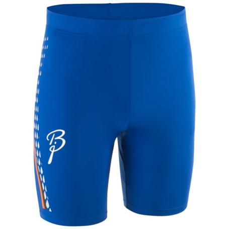 Купить Тайтсы короткие беговые Bjorn Daehlie TOPS/TIGHTS Tights IGNITE Short Surf the Web / Синий Одежда для бега и фитнеса 1181962