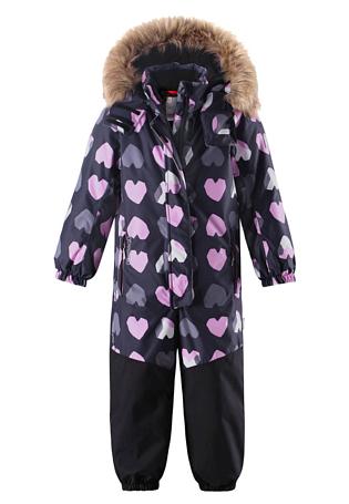 Купить Комбинезон горнолыжный Reima 2017-18 Oulu Black Детская одежда 1351645