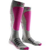 НоскиНоски<br>Шелковые горнолыжные носки&amp;nbsp;<br> <br> -Xitaloft - это высокоэффективный материал, обладающий свойствами отражения внутреннего тепла тела и быстрого отвода и испарения влаги с внешней поверхности. Обеспечивает оптимальный режим влажности кожи, препятствуя образованию потёртостей и мозолей. Обладает бактериостатическими свойствами, сдерживая рост бактерий и микроорганизмов<br> -В состав входит шерсть мериноса, обладающая высокими теплоизоляционными свойствами<br> -сочетание шелка и шерсти позволяют более точно чувствовать лыжи