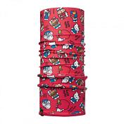 БанданаАксессуары Buff ®<br>Идеально подходит для детей, которые любят носить многофункциональные и легкие вещи. Buff можно использовать зимой вместо шарфа, он предотвратит потерю тепла. Дети могут легко носить его с собой в кармане или рюкзаке.<br><br>Особенности:<br><br>- микрофибра трубчатой формы пришита к ткани Polartec®<br>Classic 100, за счет чего Buff становится идеальной защитой зимой<br>- многофункциональность, предотвращает потерю тепла<br>- хорошая воздухопроницаемость и отведение влаги<br>- доступны размеры для детей в младших классах<br>- 100% полиэстер