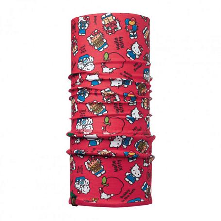 Купить Бандана BUFF Licenses HELLO KITTY JR POLAR FOODIE RED / SAMBA Детская одежда 1263962